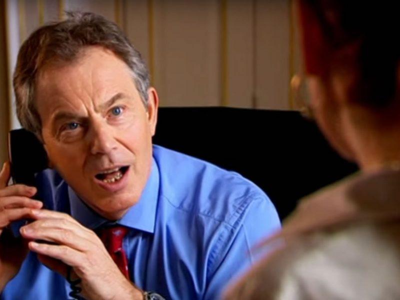 Comic Relief – Lauren Copper meets Tony Blair
