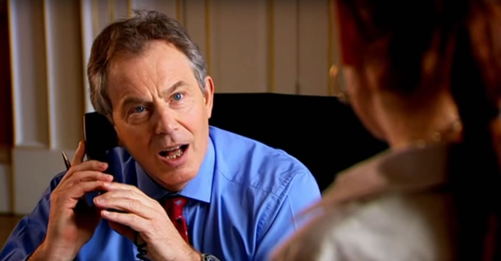Comic Relief – Lauren Copper meets Tony Blair