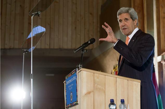 Our man in Kenya – John Kerry